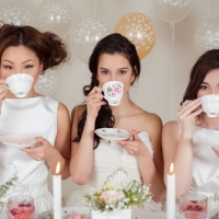 Featured on 100 Layer Cake:  Bridal Shower Brunch