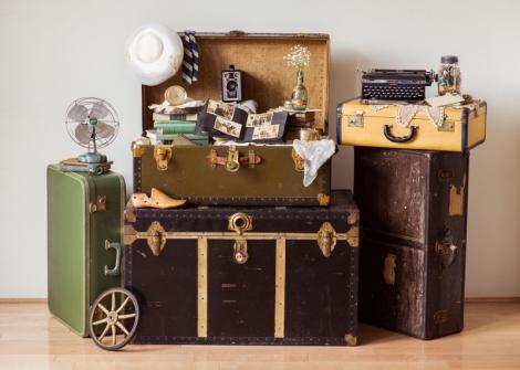 Vintage Suitcase Rental NYC