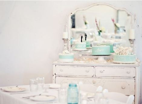 Shabby Chic Cake Display