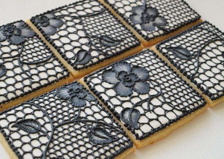 black lace cookies