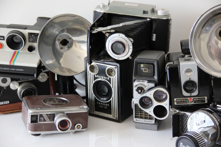 vintage camera prop rental nyc