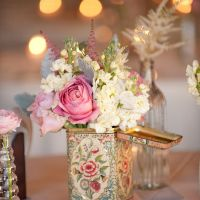 Vintage Party Rentals:  Centerpieces