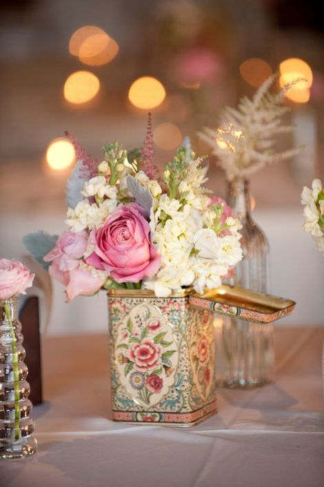 Vintage centerpiece inspiration