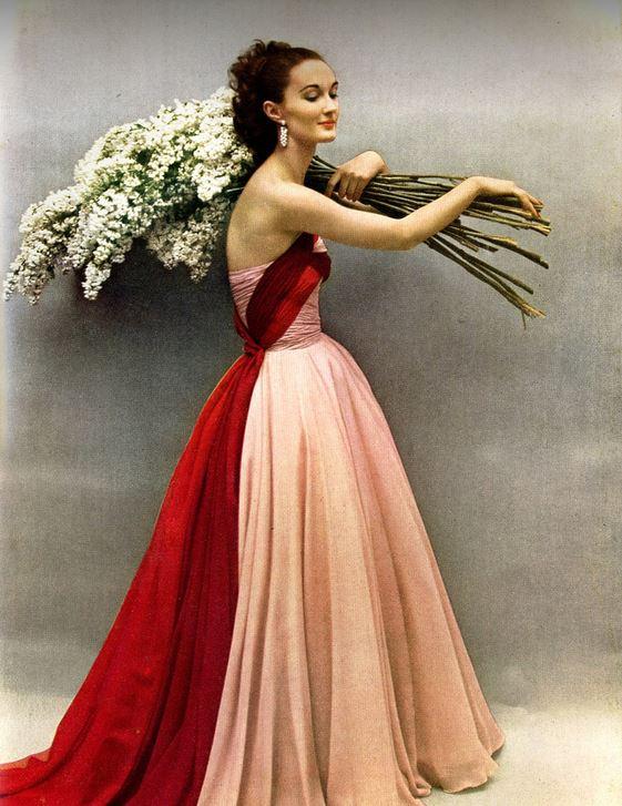 Evelyn Tripp Harpers Bazaar 1952