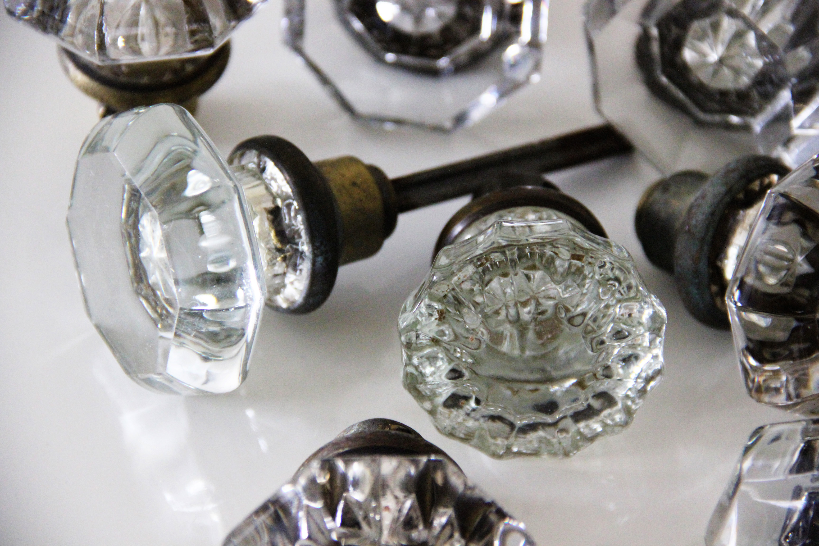 glass door knob diy by mandy forlenza sticos little vintage rentals nyc