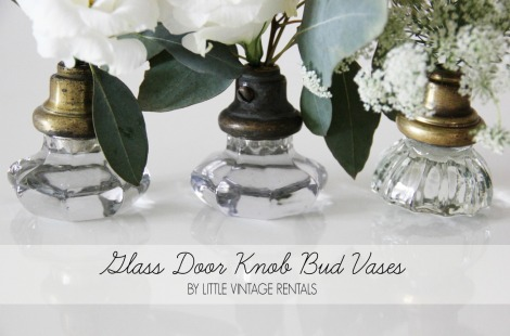 Glass Door Knob DIY by Mandy Forlenza Sticos @ Little Vintage Rentals NYC