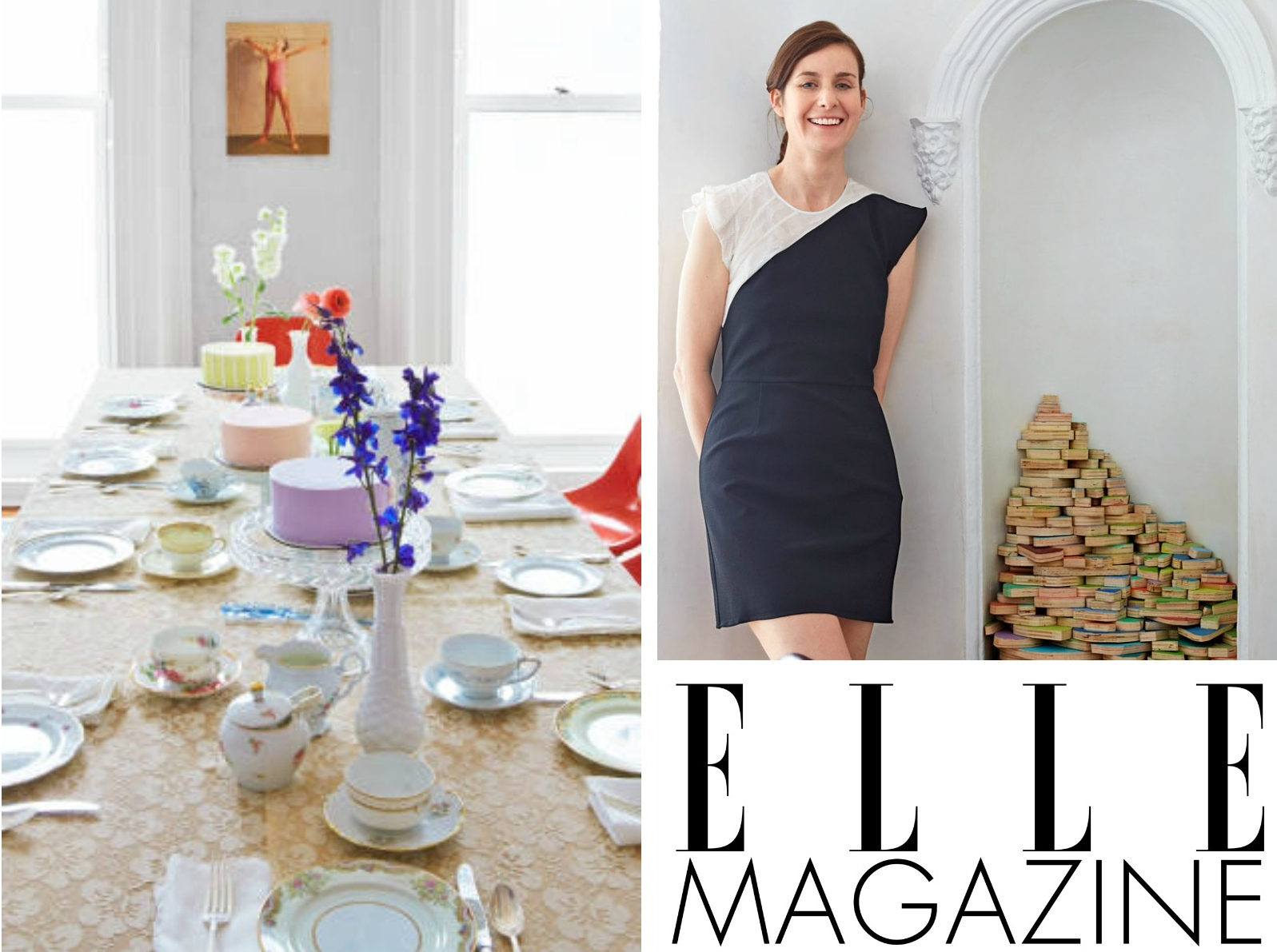 Little Vintage Rentals In Elle Magazine Pretty Little