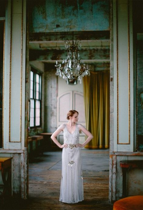 vintage chic wedding venues nyc - photo by redfield photography