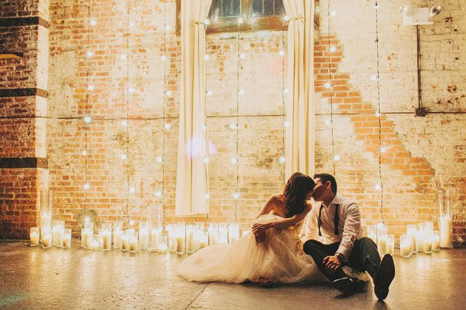 vintage chic wedding venues nyc - photo by benj haisch