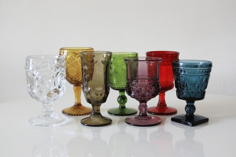 Mixed Color goblets