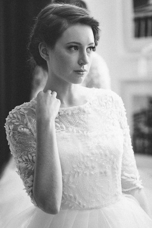 Sareh Nouri Bridal Fall 2015 by Millie B Photography via Bridal Musings