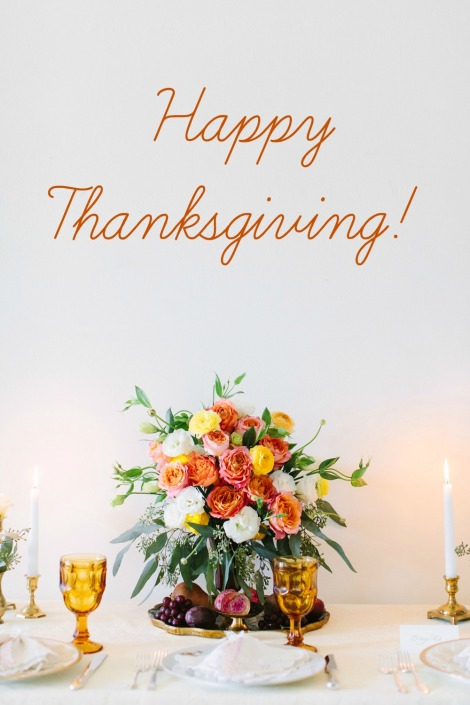 Happy Thanksgiving from Little Vintage Rentals!  Photo by Jen Trahan
