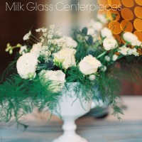 Top 7 Milk Glass Centerpieces