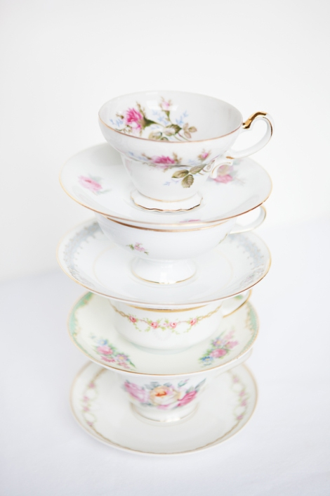 Photo by Fiona Melder  Little Vintage Rentals Teacups NYC