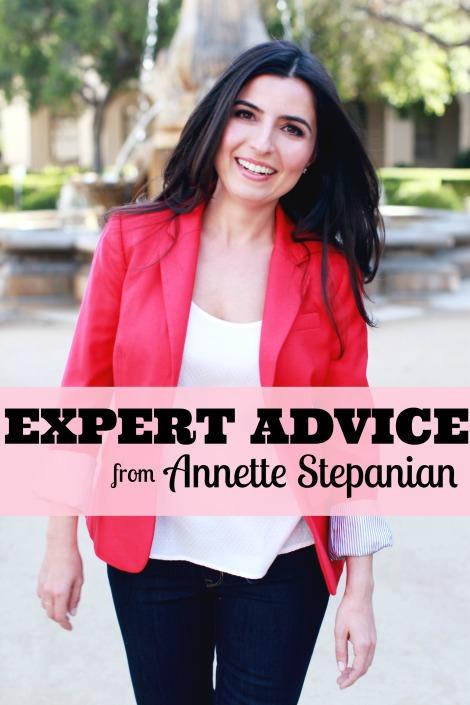 Annette Stepanian Expert Advice